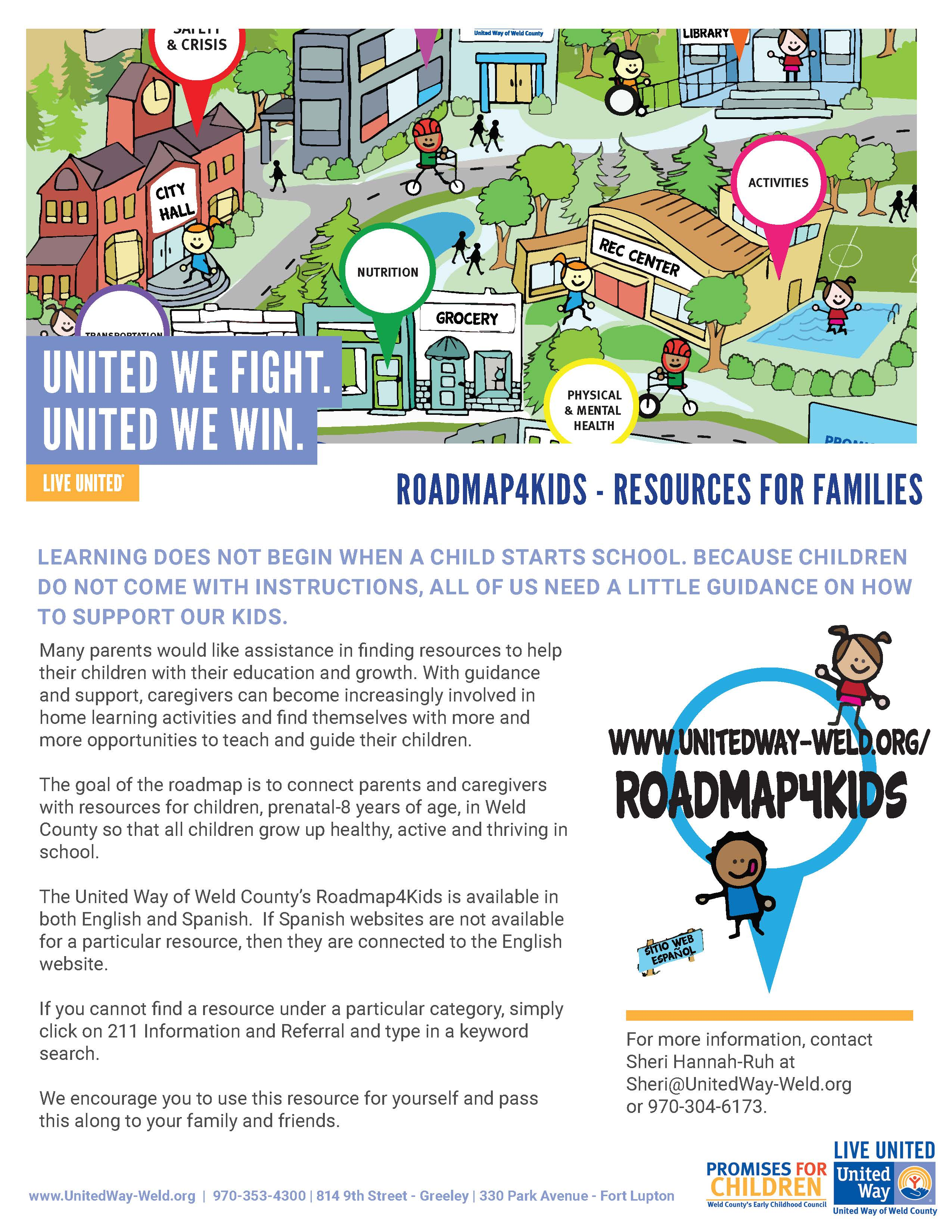 Roadmap For Kids The Early Childhood Colorado Partnership